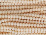 Fac. Rundperlen (1S) - 3mm Opaque - Peach 31592