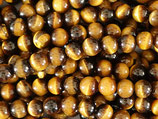 Mineralien·Perlen (1S) - Tigerauge - glatt 8.2mm