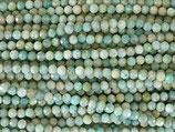 Mineralien·Perlen (1S) - Amazonit - facettiert ~4.1mm (870854)