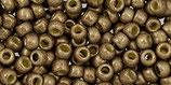Toho 8/0 - Permafinish - Matte Galvanized Almond (PF593F †‡)
