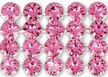 40001 Swarovski (40) - Rosa / Silber