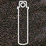 Miyuki Delicas 15/0 - Brown Silver - Lined (150)