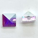 1 Stk. Crystal AB Square Spike (5061)