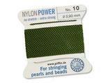 Nylon olive - No. 10