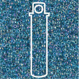 Miyuki Rocailles 11/0 - Light Blue Lined - Crystal AB (279)