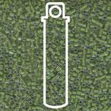Miyuki Cube 1.8mm - Chartreuse Lined - Crystal 245