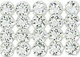 40001 Swarovski (40) - Crystal / Silber