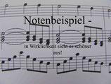 En Traum Stimme für Klavier und Chor, Download PDF