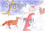 Nikolaus und die vertauschten Weihnachtsplätzchen Lesetext PDF