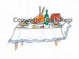 Tischlein, deck dich, Goldesel und Knüppel aus dem Sack Kopiervorlage PDF