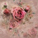 Servietten von RuBijoux 'Rote Rosen'