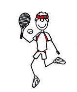 Tennis Lineal Knabe & Männer