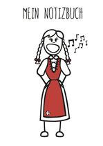Singen Notizbuch (Mädchen & Frauen)