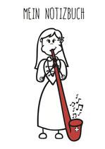 Alphorn Notizbuch (Mädchen & Frauen)
