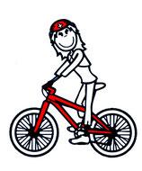 Fahrrad/Velo Lineal Mädchen & Frauen