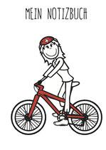 Velo / Fahrrad Notizbuch (Mädchen & Frauen)