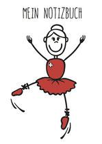 Tanzen Notizbuch (Mädchen & Frauen)