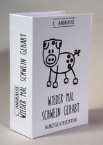 Buch-Tresor Schwein