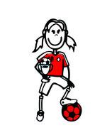 Fussball Lineal Mädchen & Frauen