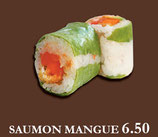 GREEN ROLL - Saumon Mangue