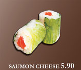 GREEN ROLL - Saumon Cheese