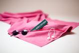 Reisehandtuch mit Geheimfach | 70x140cm | Meerjungfrau-pink