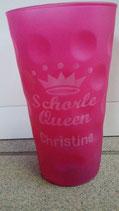 "Dubbeglas ""Schorle-Queen XXX"""