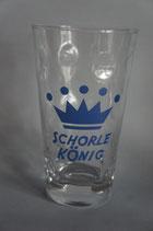 """Dubbeglas """"Schorle-König"""""""