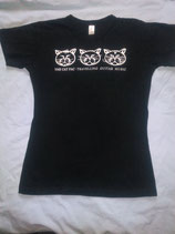 "T-Shirt bedruckt ""The Cat Pac"""