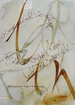 Kalligrafiepostkarte - November