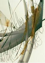Kalligrafiepostkarte - Glockenklang