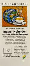 Ingwer / Holunder, Bio
