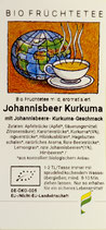Johannisbeer / Kurkuma, natürlich, Bio