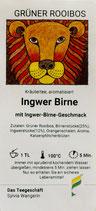 Ingwer Birne
