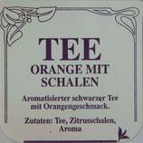Orange mit Schalen