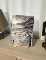 """Peinture de paysage """" capagna """""""