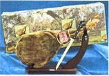 Serranoham compleet met houder en mes in geschenkverpakking