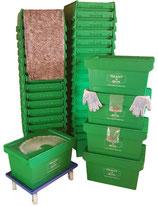 2-Zimmerpaket mit 40 Umzugsboxen mieten