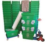 4-Zimmerpaket mit 80 Umzugsboxen mieten