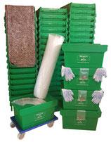 3-Zimmerpaket mit 60 Umzugsboxen mieten