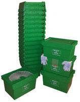 1-Zimmerpaket mit 20 Umzugsboxen mieten