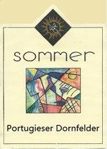 Portugieser und Dornfelder Rotwein
