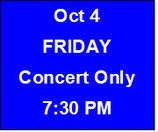 Friday Concert Only