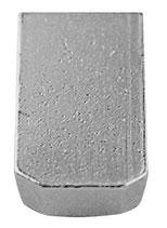 Blindstelle für Schlagstempel, 30 mm