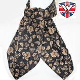Cravat Paisley Black