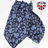 Cravat Paisley Navy