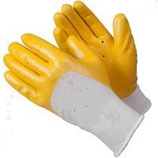 Nitrilhandschuhe gelb - Texxor Größe 10/XL