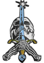 Powell Peralta Skull & Sword Pin