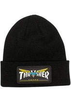 Thrasher X Venture Collab Patch Beanie
