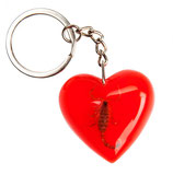 Santa Cruz Poison Heart Keychain